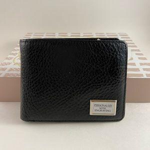 2/$20 🛍️ Donato Men's Leather Wallet - Black